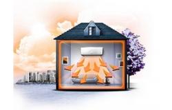 Отопление кондиционером: бюджетный обогрев помещений